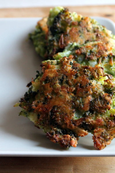 Four Ingredient Broccoli & Cheddar Fritters