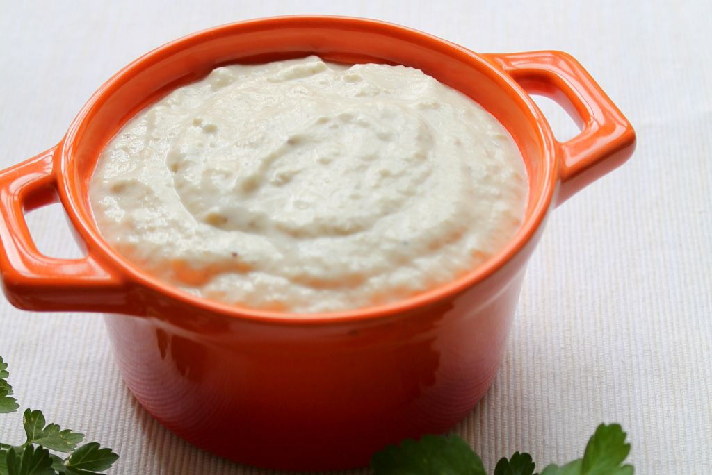 eggplant yogurt dip