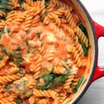 One Pot Pasta with Tomato & Mascarpone Sauce