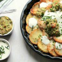 simple skinny irish nachos