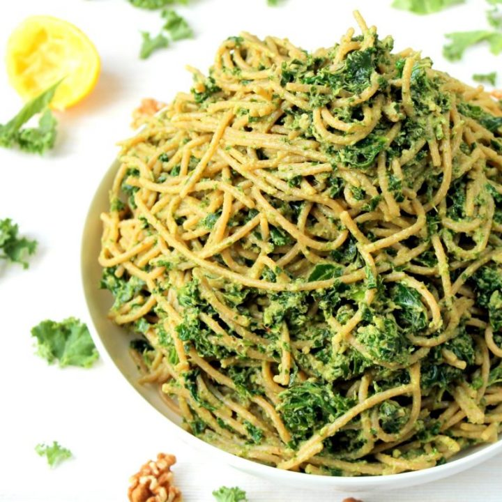 This is a super healthy but comforting bowl of spaghetti! So carby but refreshing all at the same time!