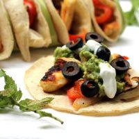 Grilled Halloumi Tacos