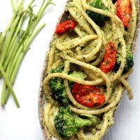 Lemon & Broccoli Pesto Pasta