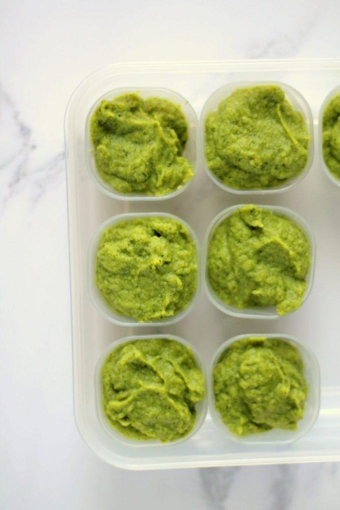 Prepare Avocado Baby First Food