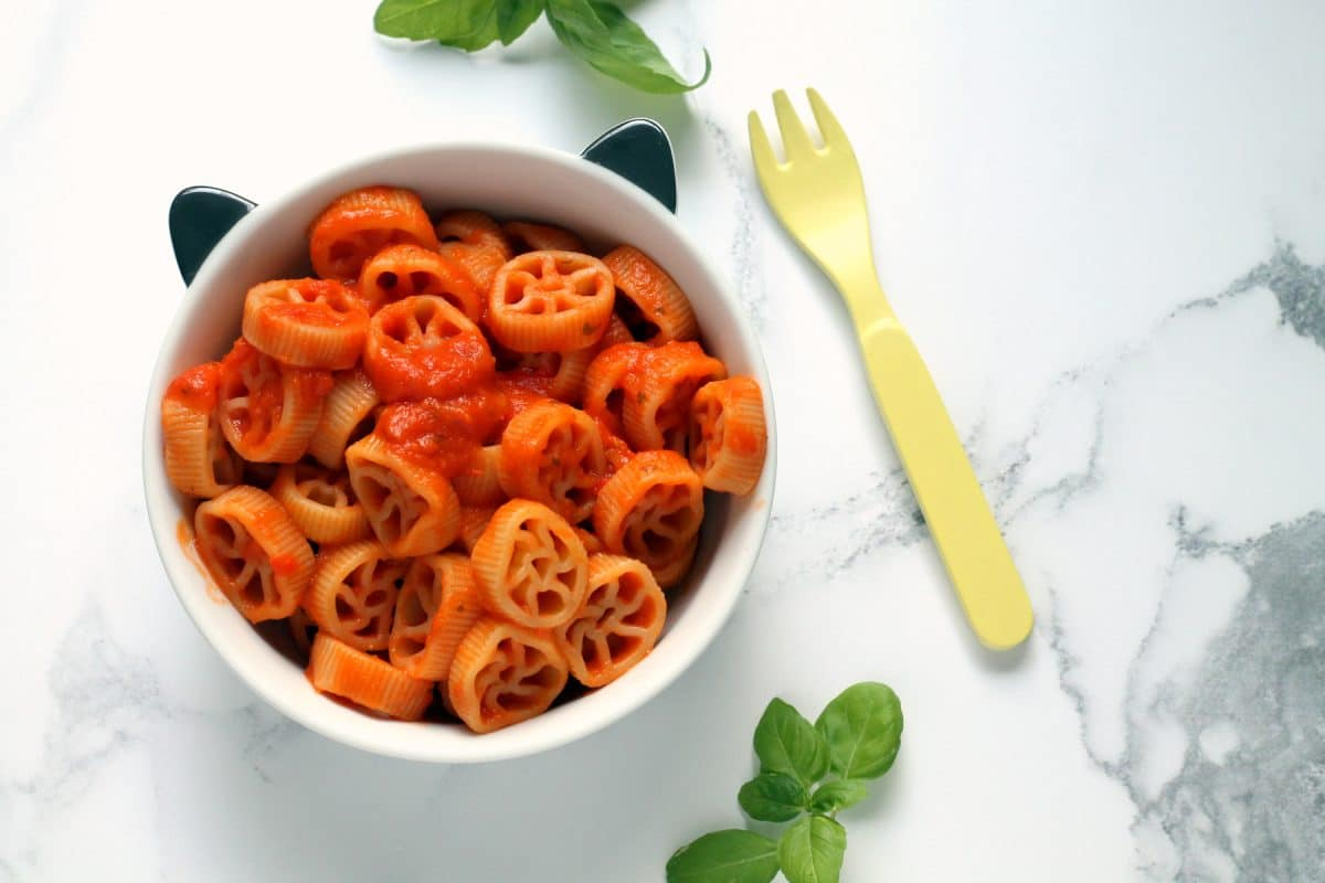 First Tomato Pasta Sauce For Babies Iron Rich Dairy