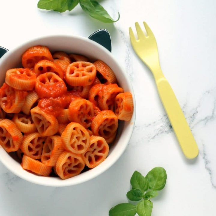 First Tomato Pasta Sauce for Babies {Iron Rich + Dairy Free}