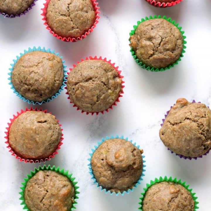 Healthy Baby & Toddler Muffins