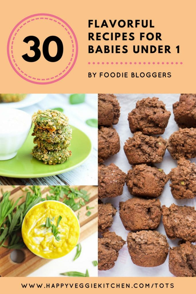 Tasty Homemade Baby Food Recipes from Foodie Bloggers