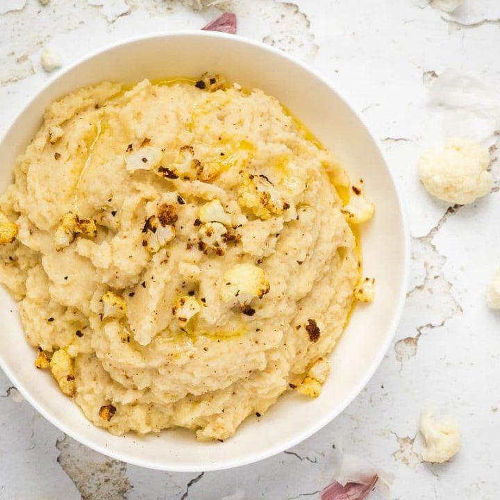 Roasted Cauliflower Mash