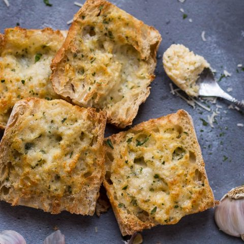 Air Fryer Garlic Bread