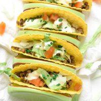 Air Fryer Lentil Tacos