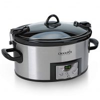 Programmable Slow Cooker with Digital Timer