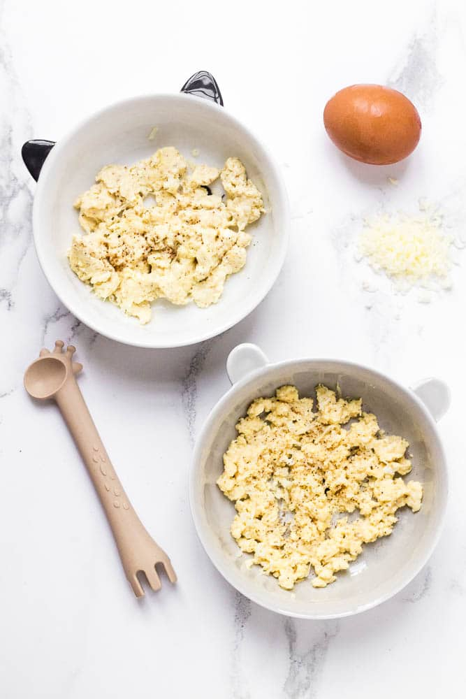 baby led weaning eggs