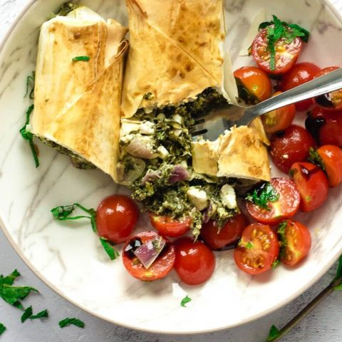 Air Fryer Spanakopita Rolls