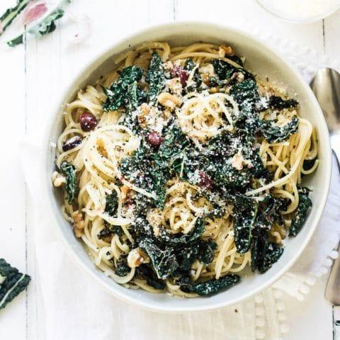 Creamy Cavolo Nero Pasta