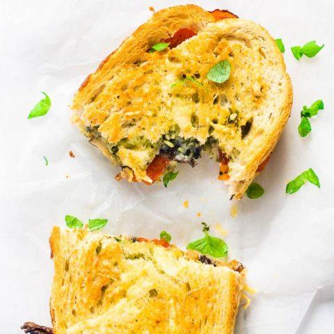 Air Fryer Veggie Sandwich