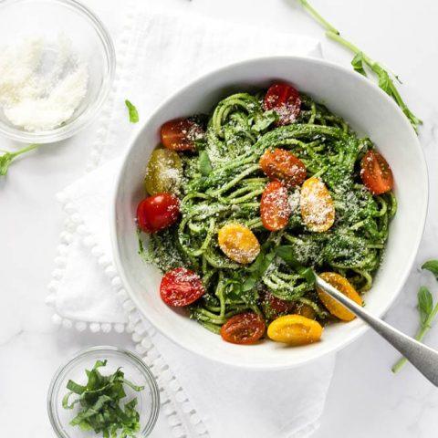 Spinach Spaghetti Sauce